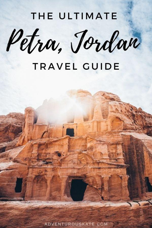 Visit Petra, Jordan - Adventurous Kate