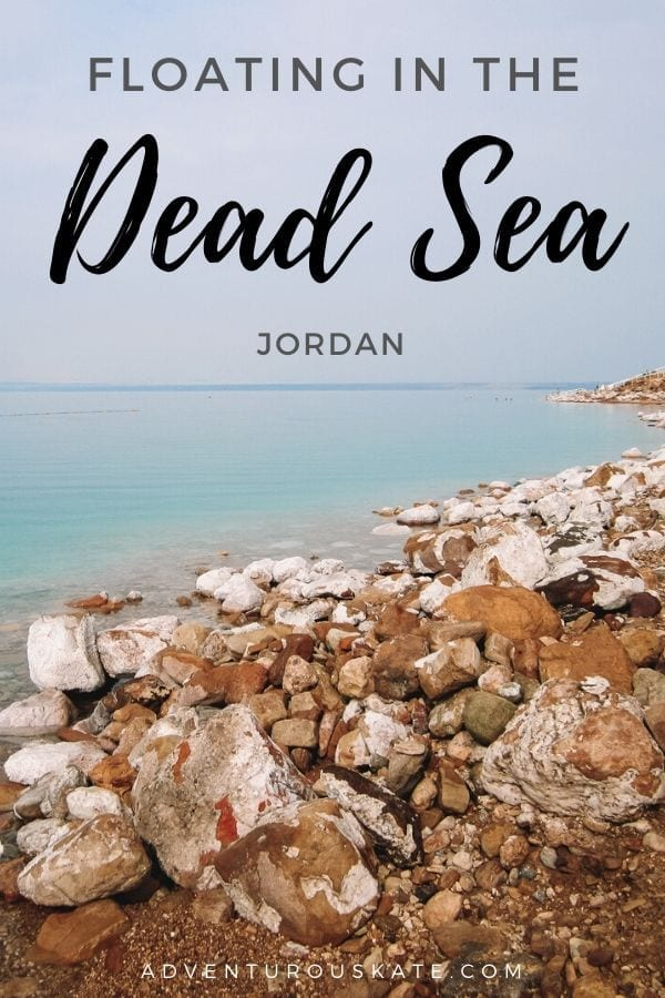 Floating in the Dead Sea - Adventurous Kate