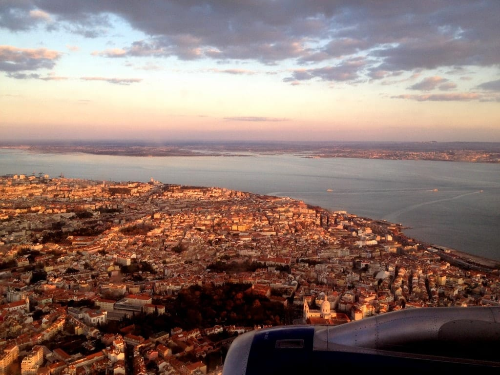 Lisbon as Seen from Above