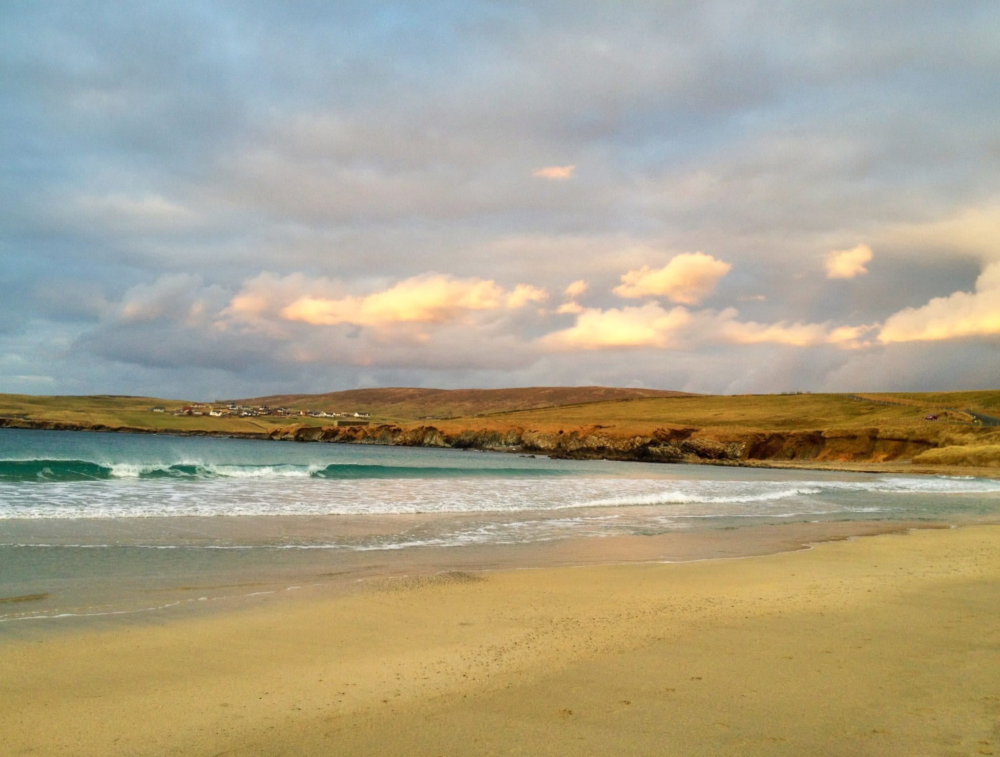 Tropical Beach in Shetland?