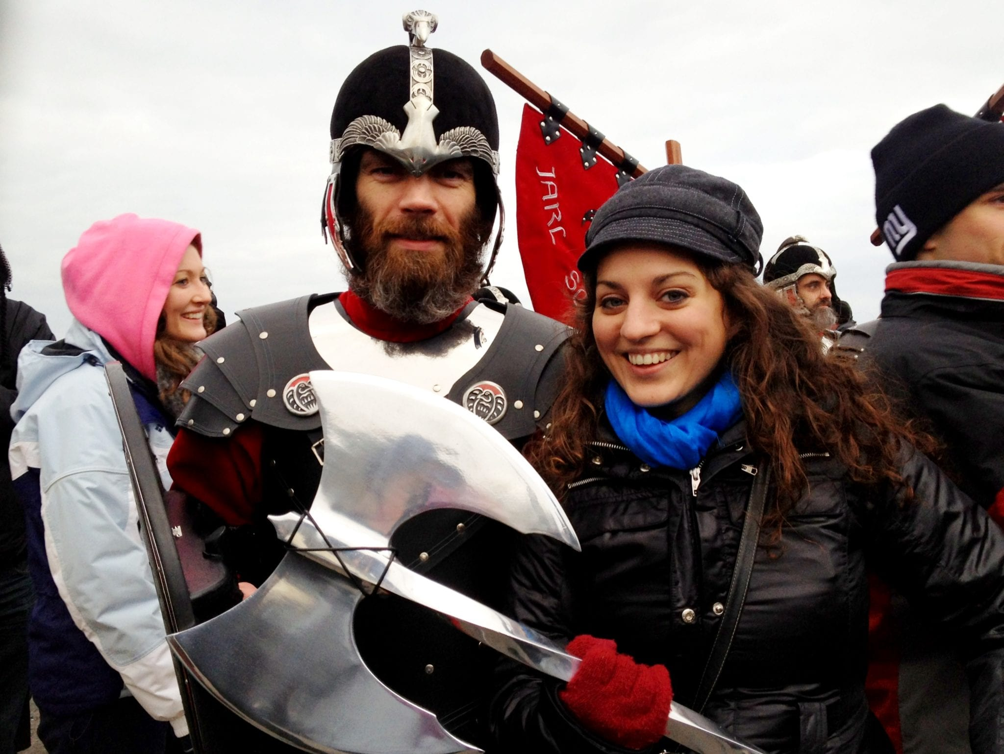 Kate and a Viking