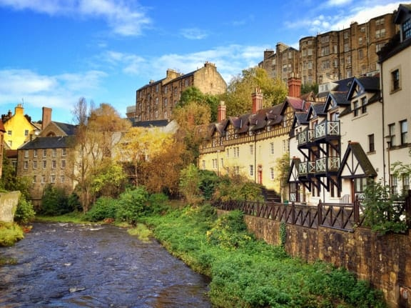 Sunny Edinburgh