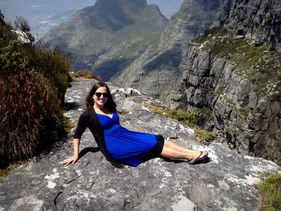 Kate on Table Mountain