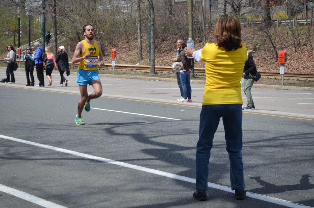 Helping Marathoners