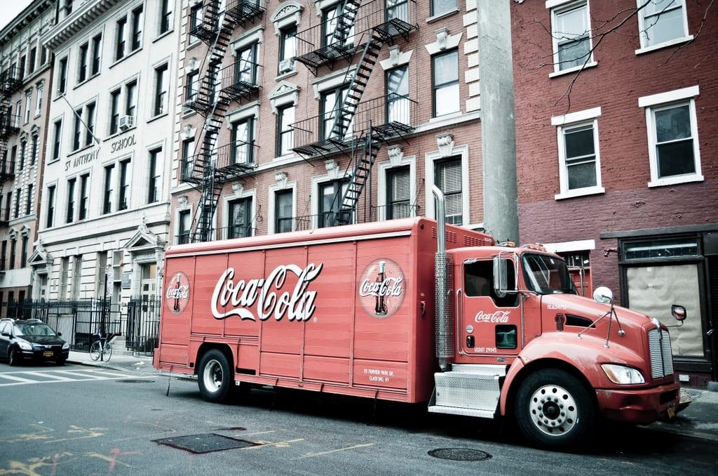 Faded Coke Ad