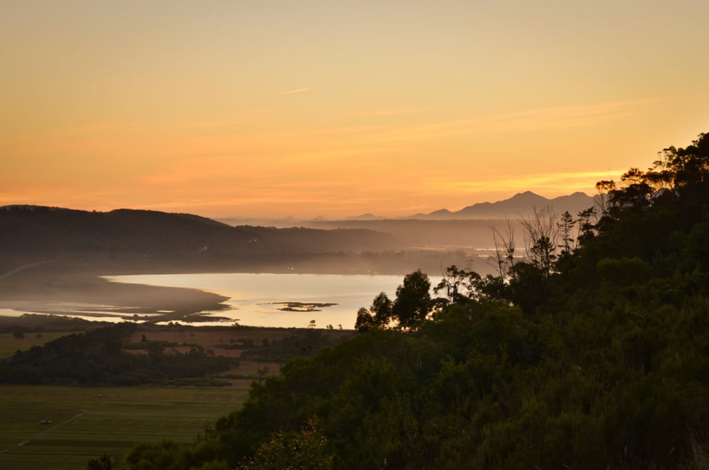 Sunset in Sedgefield