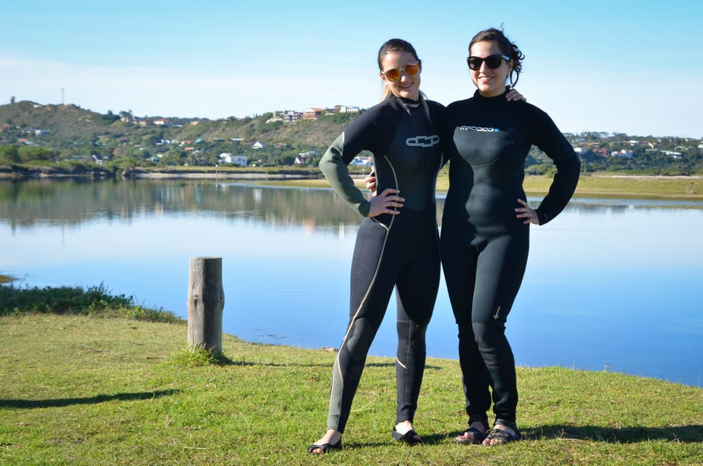 Nadine and Kate at Sedgefield Lagoon