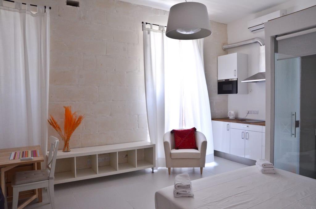 Two Pillows Orange Room