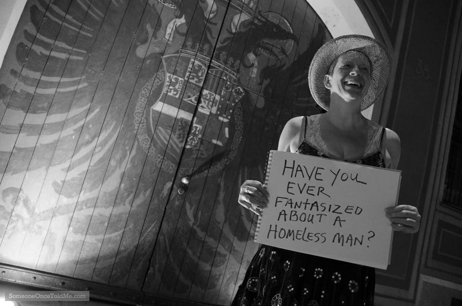 Ever fantasized about a homeless man?