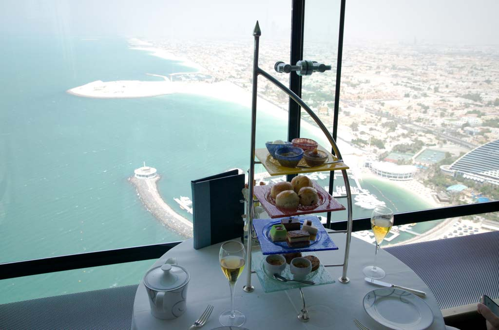 Afternoon tea at the Burj al Arab