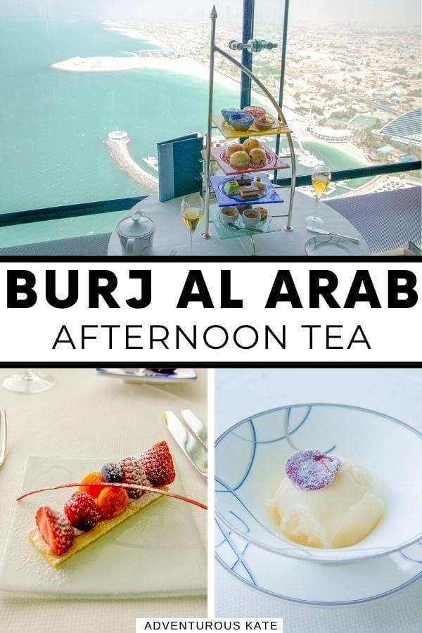 Burj al Arab Afternoon Tea - Adventurous Kate