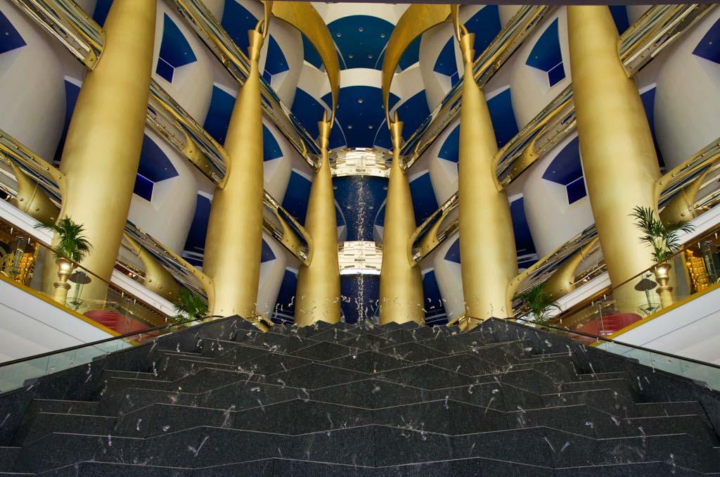 Burj al Arab interior design
