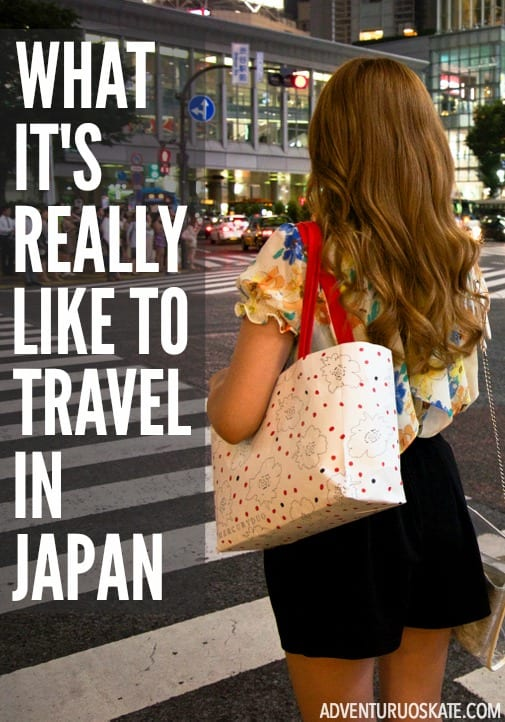 What's it REALLY like to travel in Japan? | Adventurous Kate