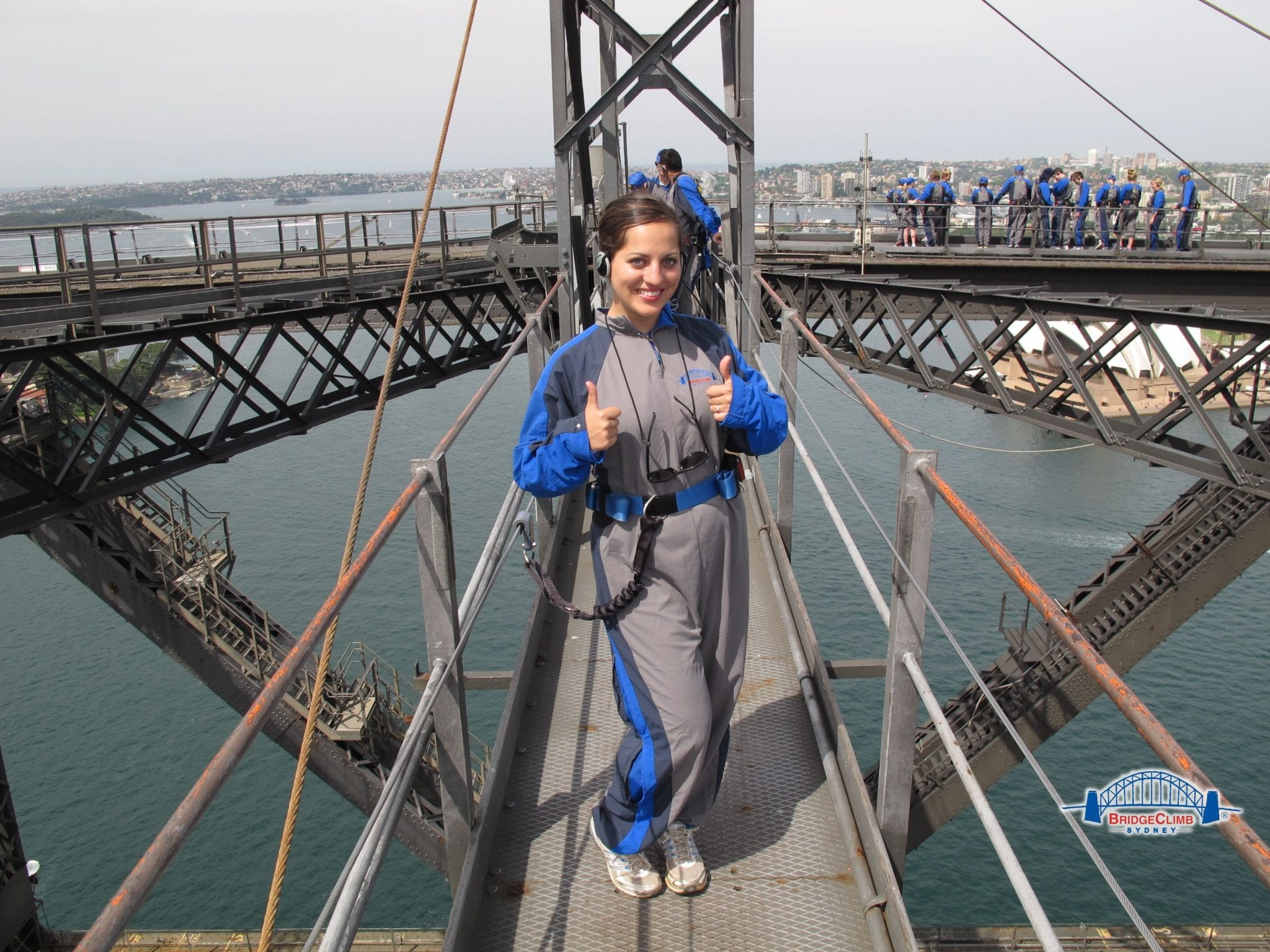 Adventurous Kate on the Bridgeclimb
