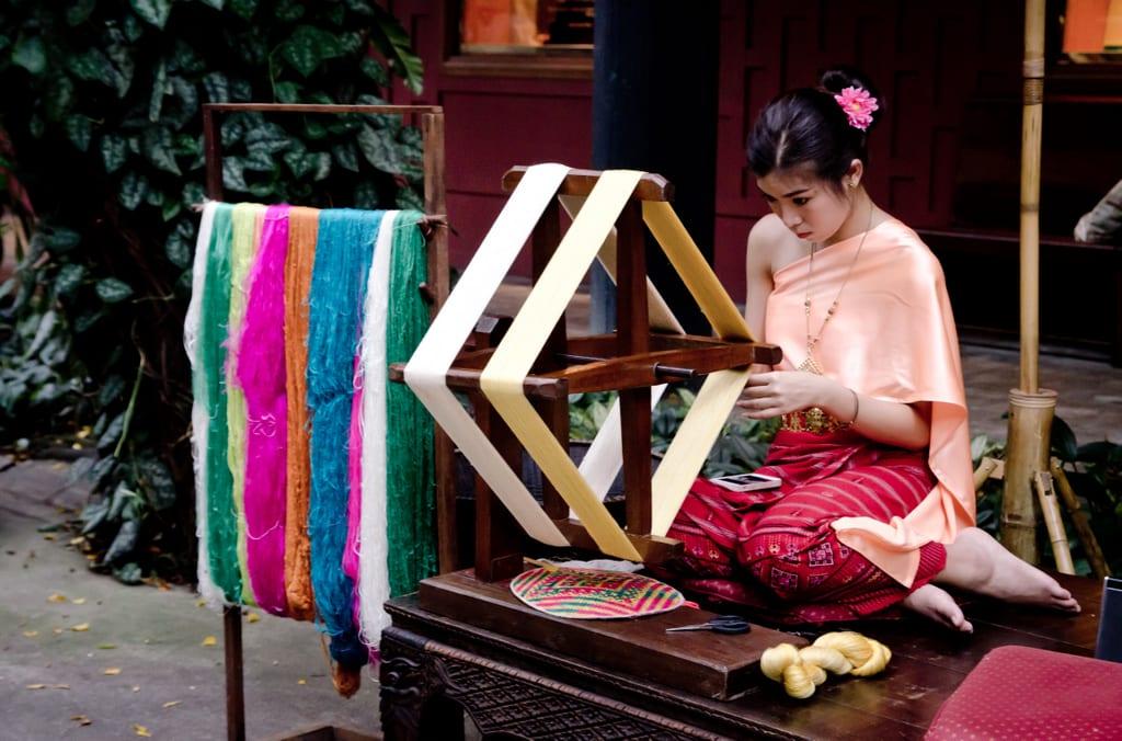 Silk Weaver, Bangkok