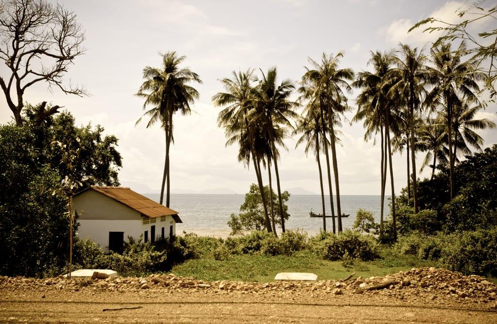 Beachfront on Cambodia's South Coast