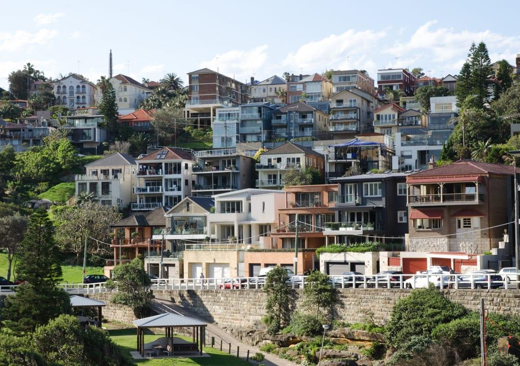Houses by Tamarama Beach