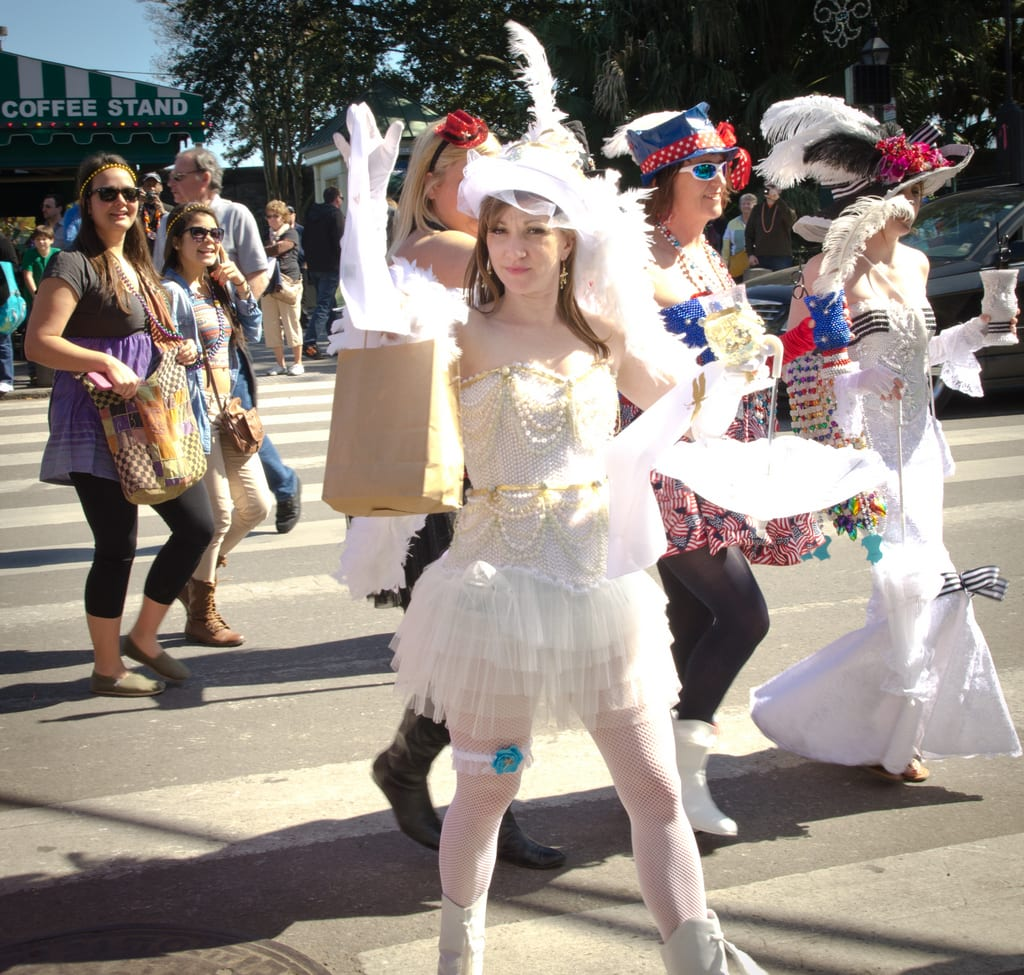 French Quarter Mardi Gras