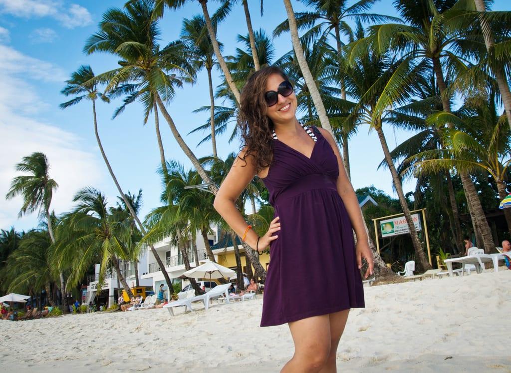 Kate in Boracay
