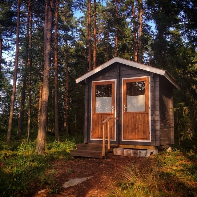 Finnish Outhouse