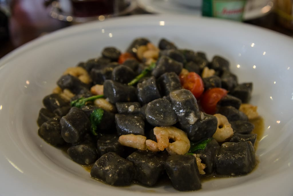 Squid Ink Gnocchi