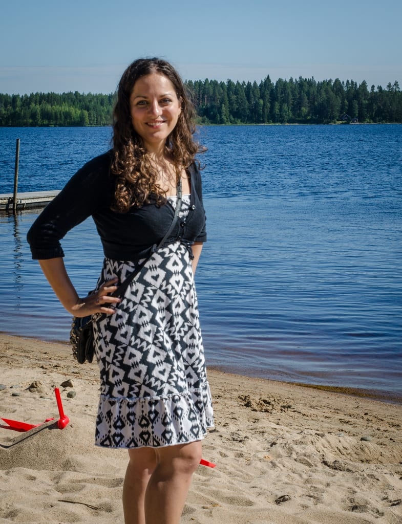 Kate in Kuhmo Finland