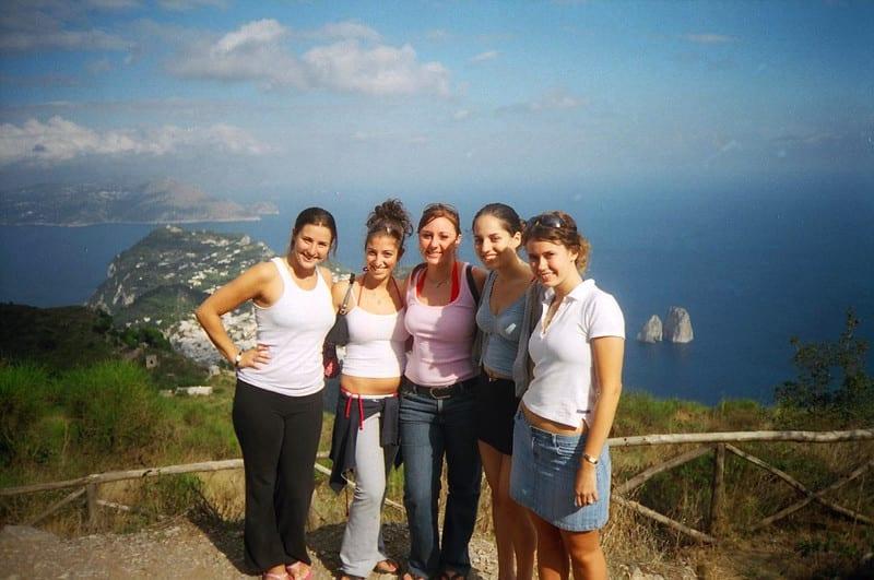 Girls in Capri