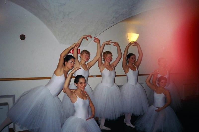 Kate Ballet Class