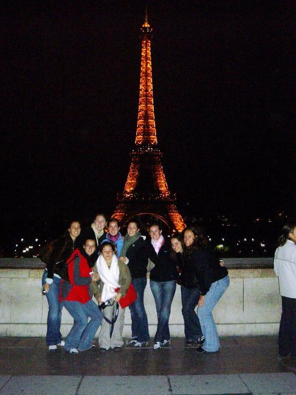 Santa Croce Girls in Paris