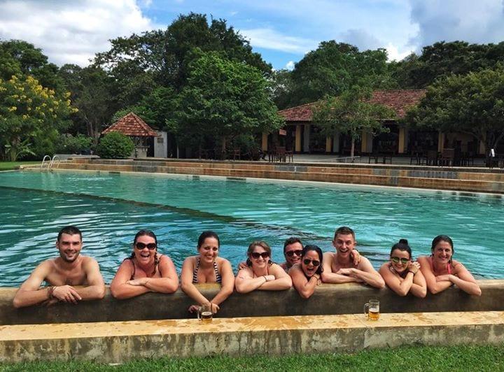 Friends in Sri Lanka