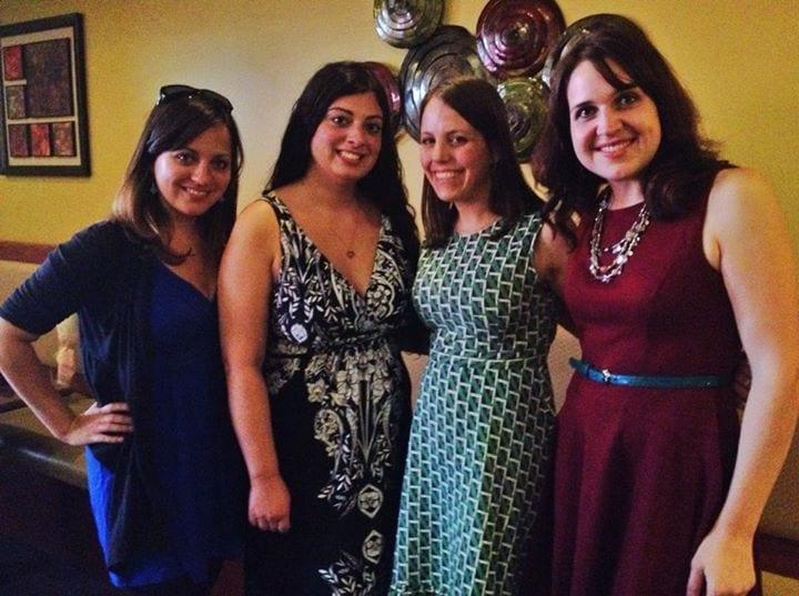 The Brood! Kate, Alexa, Beth, Lisa