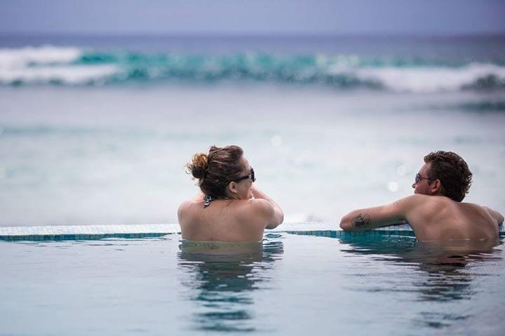 Kate and Leif in Sri Lanka