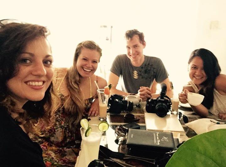 Kate, Liz, Chris and Tawny