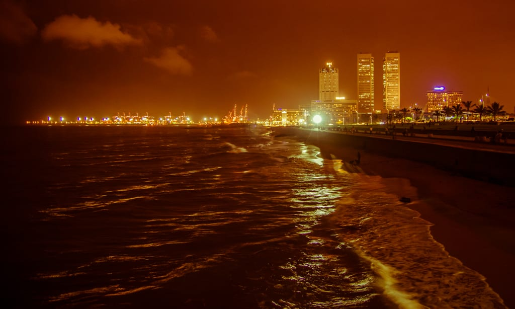 Colombo from the Pier