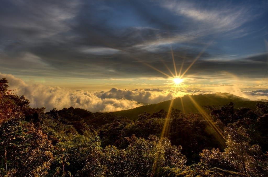 View from Cerro Amigos, Costa Rica