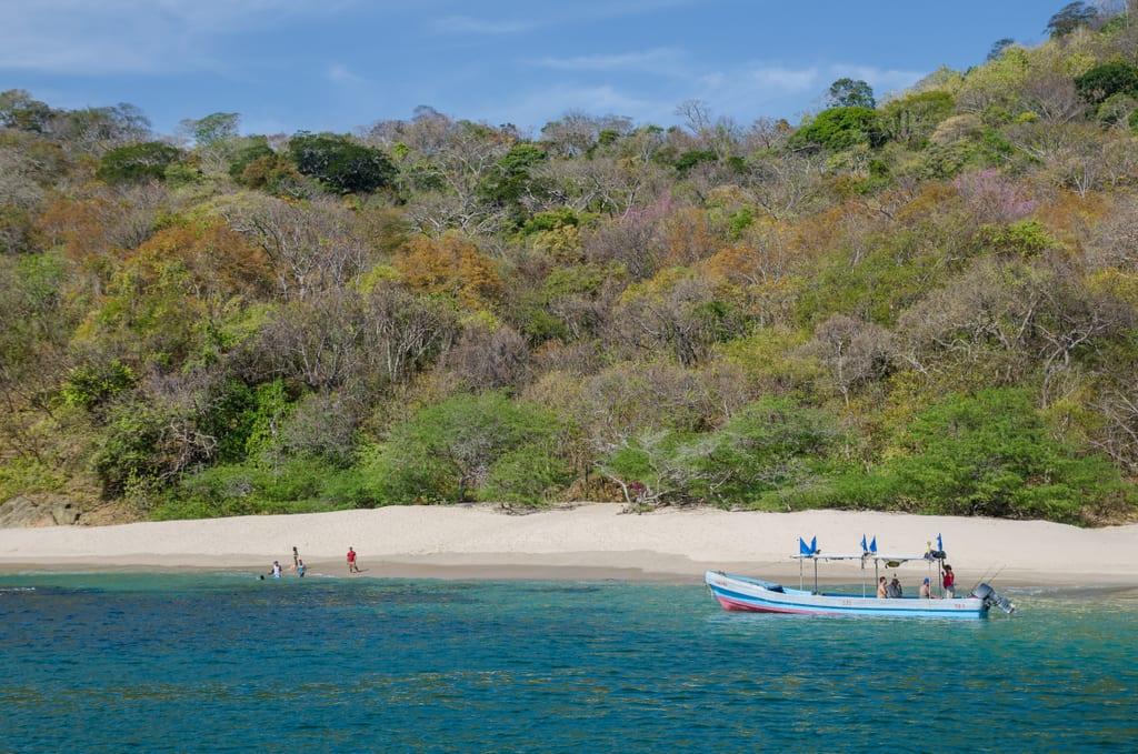 San Juan del Sur Catamaran Ride Hidden Beach