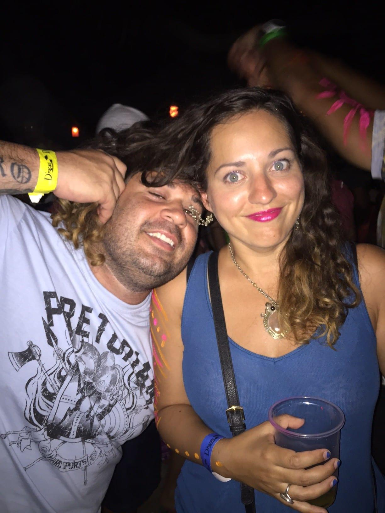 Kate and Salvadoran Guy