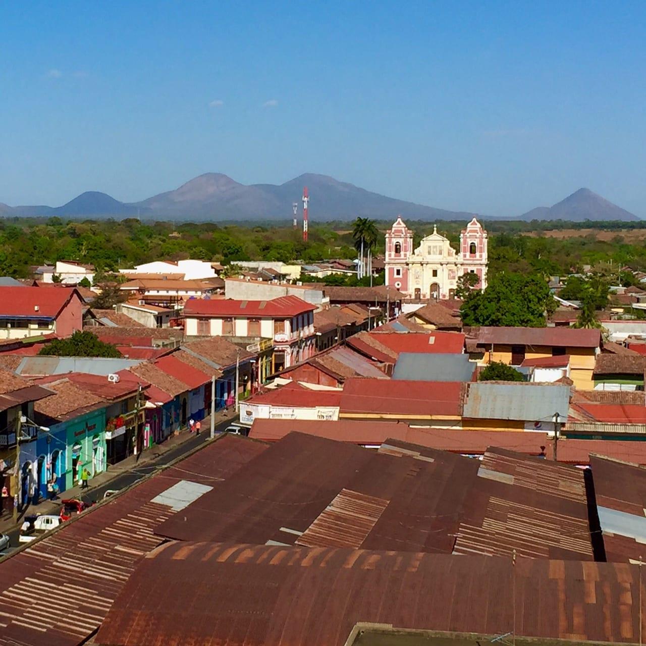 View over Leon