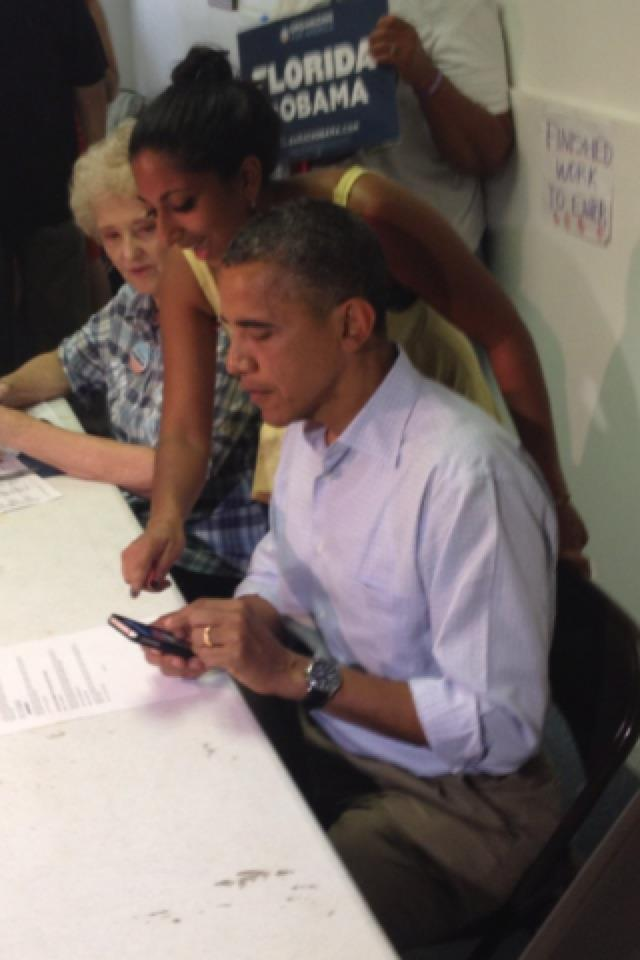 Maya and Obama