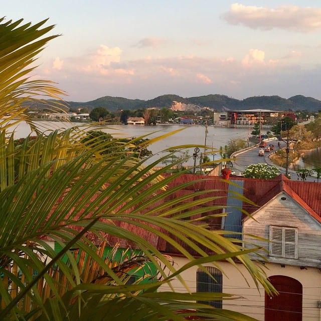 View from Los Amigos, Flores