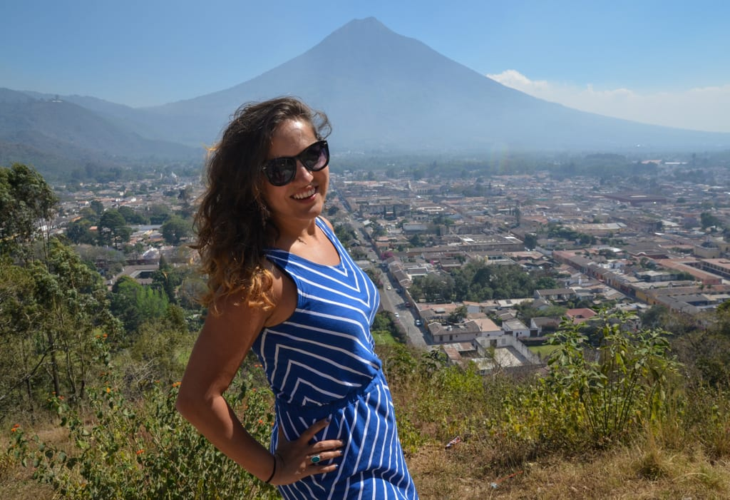 Kate in Antigua Guatemala