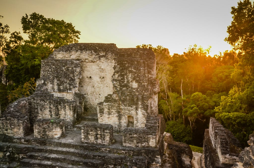 Tikal Sunset