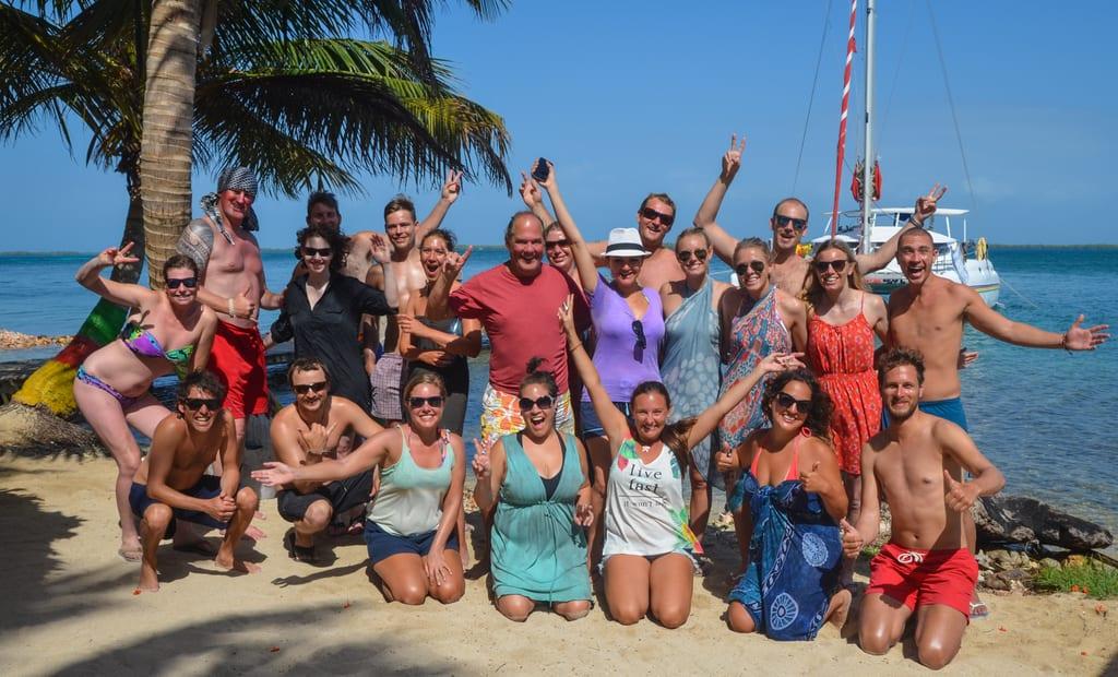 Sailing Belize