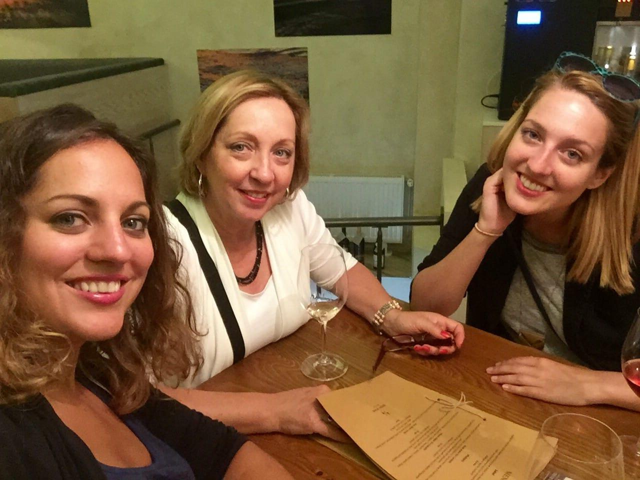 Kate, Mom and Sarah in Riga