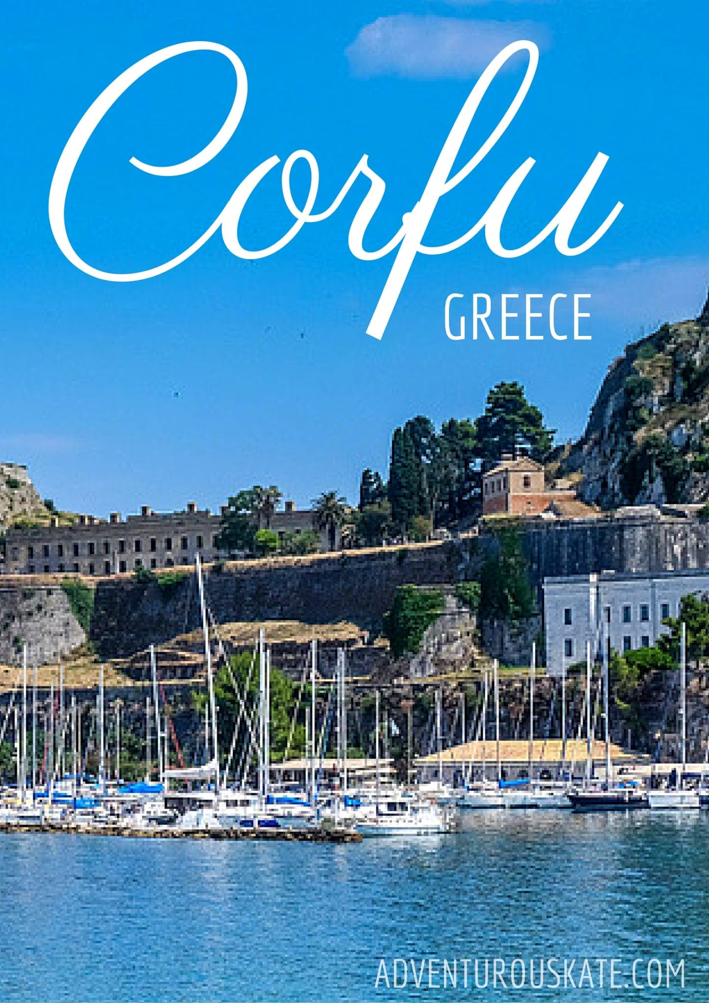 Beautiful Corfu, Greece