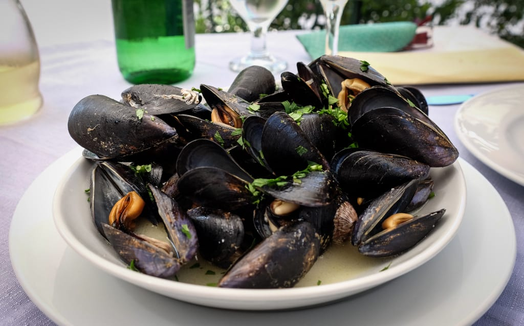 Mussels in Siracusa