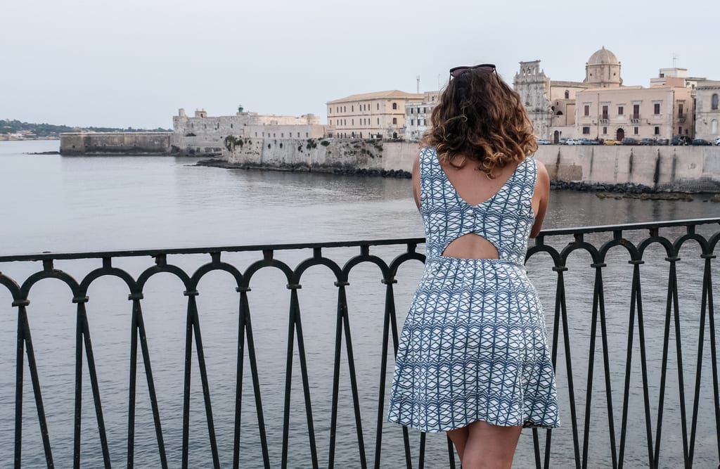 Kate in Siracusa