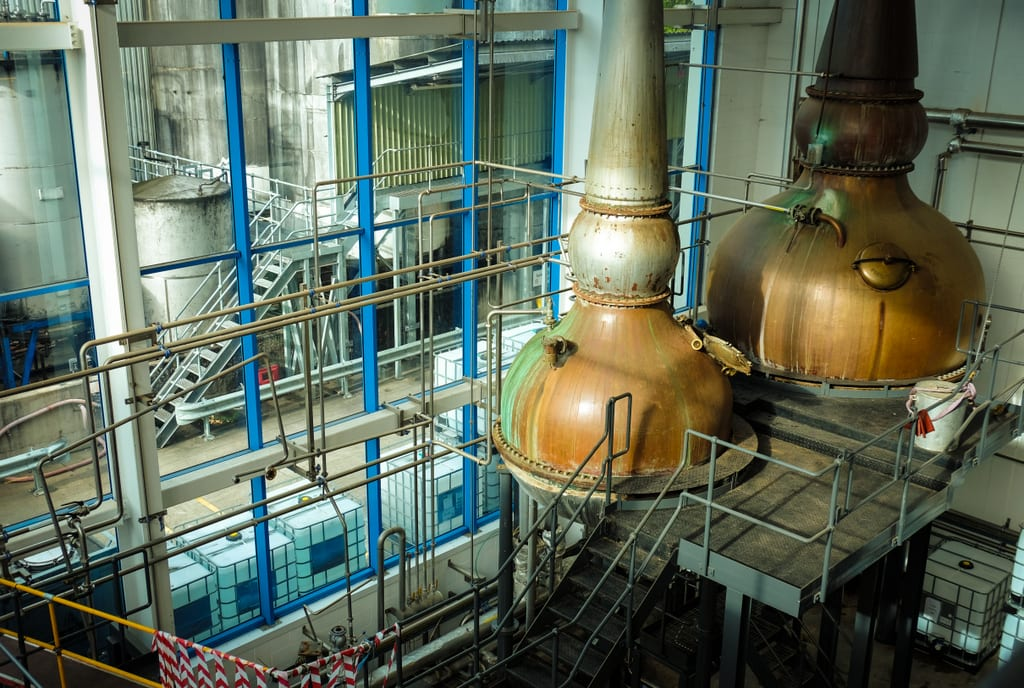 Greenalls Distillery