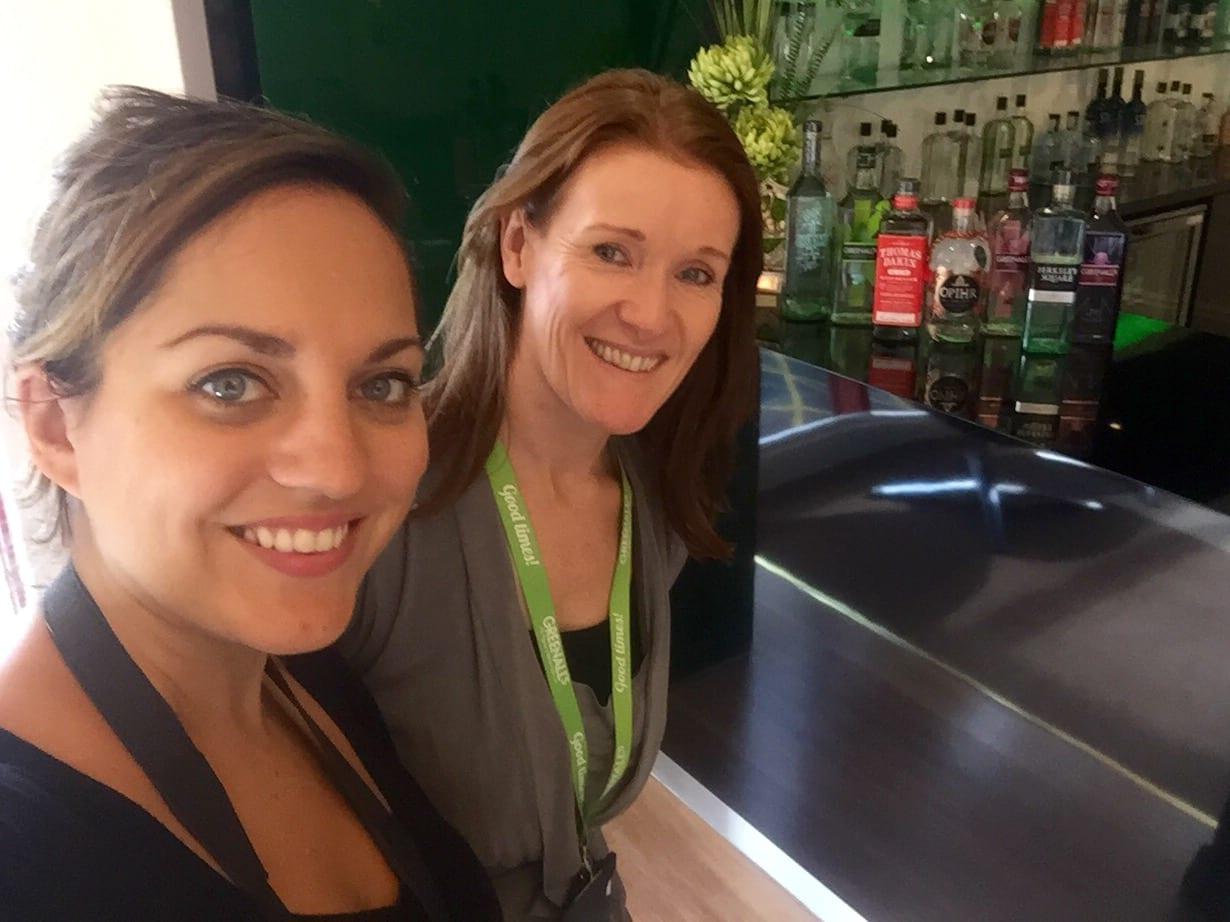Kate and Master Distiller Joanne Moore