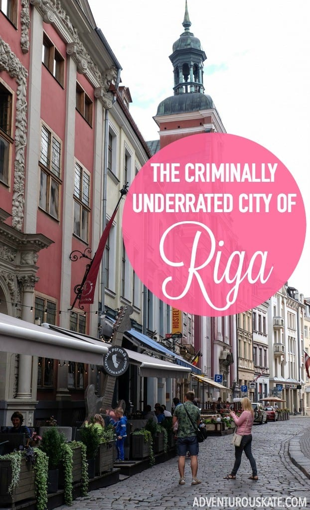Riga, the capital of Latvia, deserves far more attention from tourists than it seems to receive. See why it was one of my favorite destinations in Europe this summer! | Adventurous Kate